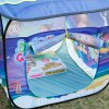 Excelvan Kids Toddlers Pop-up Play Tent Dream Theme Simple Blue Children Game Play Tent, Kids Fun Portable Folding Tent Indoor Outdoor Playhouse Toy photo