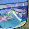 best Excelvan Kids Toddlers Pop-up Play Tent Dream Theme Simple Blue Children Game Play Tent, Kids Fun Portable Folding Tent Indoor Outdoor Playhouse Toy