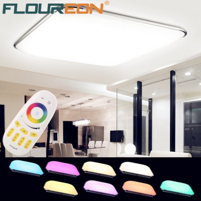 Floureon® 36W RGB LED Ceiling Light, 2.4G Wireless Remote Control Infinite Dimming, 180~265V, RGB Color Change,3000K~6500K Adjustable. Widely Use, Suitable for Living Room, Kitchen, Hotel, Meeting Roo