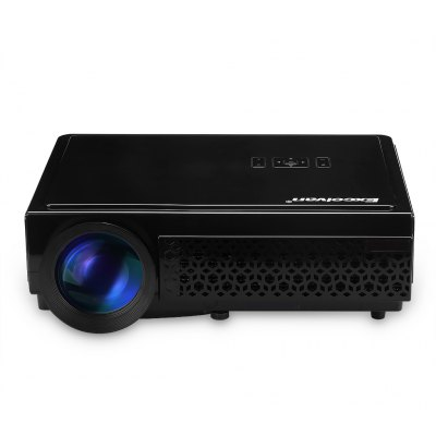 Excelvan LED 96+  Native 1280*800 support 1080p Led  Projector  Black UK PLUG