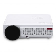Excelvan 96+ Native 1280*800 support 1080p Led Projector White UK PLUG