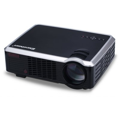 Excelvan 2600 Lumens LED HD  Projector Cinema Theater PC&Laptop AV/VGA/HDMI/USB input