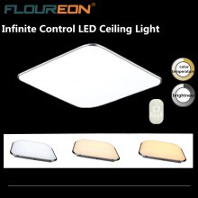Floureon® 24W LED Ceiling Light, 2.4G Wireless Remote Control Infinite Dimming,110~265V, 3000K~6500K Adjustable. Widely Use, Suitable for Living Room, Kitchen, Hotel, Meeting Room. Functional Intellig