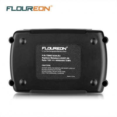 FLOUREON MET 18V 4Ah Li-ion BatteryBatteries<br>FLOUREON MET 18V 4Ah Li-ion Battery<br>