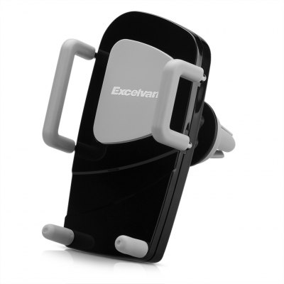 EXCELVAN H79 - 3 + C89 Universal 360 Degree Rotation Adjustable Car Air Vent Mount Holder Cradle