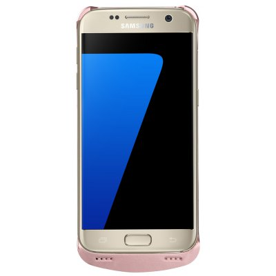 External Backup Battery case 4200mAh for Samsung Galaxy S7 (Rose Gold)