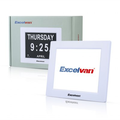 Excelvan DC8001 Digital Calendar Clock Auto Dimming