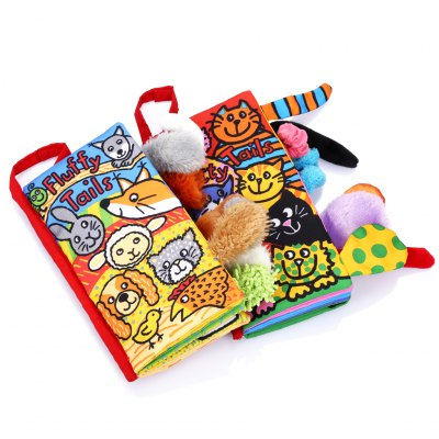2pcs Baby Toddlers Educational Development Cloth Book