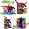cheap 2pcs Baby Toddlers Educational Development Cloth Book