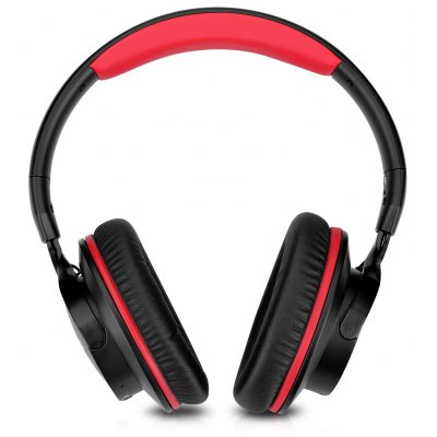 Zinsoko 861 Bluetooth 4.1 Wireless 3.5mm Audio Cable Wired Headphone Noise-Cancelling over Ear Headset Voice Prompts Stereo Bass Sound Large Power Compatity 18H Play Time 20H Talk Time 300+H Standby T