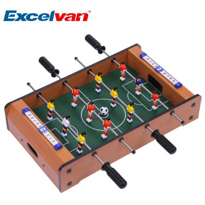 Excelvan Mini Table Top Foosball 20 Inches Soccer Game Table