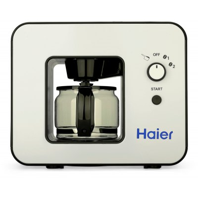 Haier Grind and Brew Automatic 4 Cups Elegant design Warming plate Built-in coffee grinder Coffee Maker