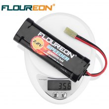 2X Floureon® 7.2V 3000mAh Ni-MH High Capacity Battery Flat Pack with Tamiya-female Plug for RC Cars
