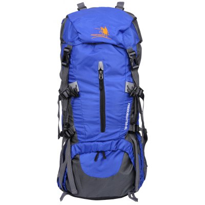 Free Knight 65L Camping Travel Rucksack Water Resistant Mountaineering Outdoor Backpack Hiking Bag