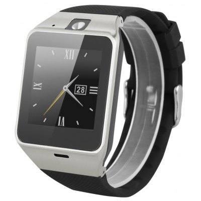 Excelvan GV18 Bluetooth Smart Watch with Camera Unlocked SIM Phone Watch Sync Call Music Reminder Anti-lost phone mate for Android IOS