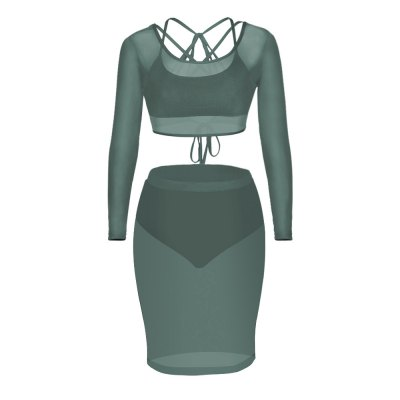 2016 new arrival sexy perspective grenadina stitching woman three pieces setBodycon Dresses<br>2016 new arrival sexy perspective grenadina stitching woman three pieces set<br>
