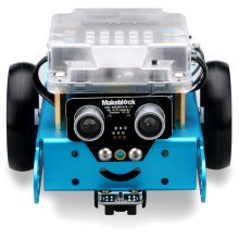 Makeblock MBot Upgrated Version DIY Mbot V1.1 Arduino C Graphical Programming Educational Robot Kit -Blue (Bluetooth Version)