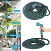 Finether 75 FT 8 in 1 Garden Water Hose Latex Pipe deal