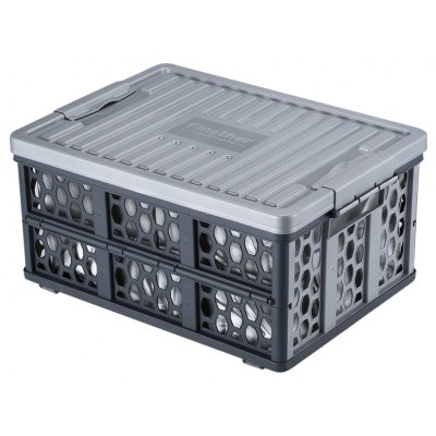 Finether Collapsible Utility Plastic Storage Container
