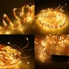 cheap Excelvan Warm White Color 30 LED x 12 String Starry Lights