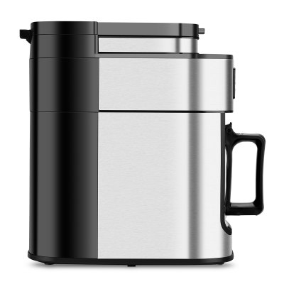 Excelvan 1050W, 1.25L 10-Cup Automatic Programmable Coffee maker, Built-in Grind-and-Brew Includes Permanent Reusable S/S Filter- Silver and Black от GearBest.com INT