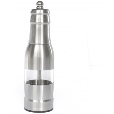 Finether OTSYMP - 006 304 Stainless Steel Pepper Mill Manual Grinder