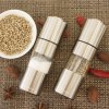 best Finether OTSYMP - 002 Salt Shaker Pepper Mill Set