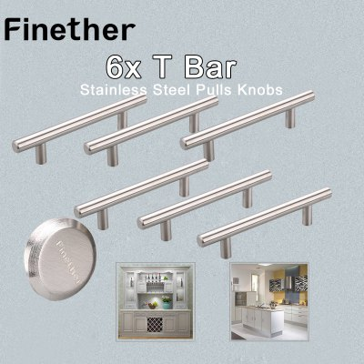 Finether 6 X T Bar Stainless Steel Kitchen Cabinet