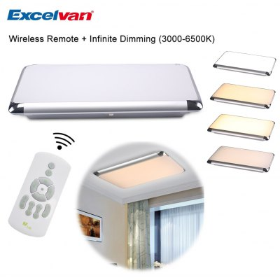 Excelvan Double Color Dimming 36W 35inch LED Ceiling Light