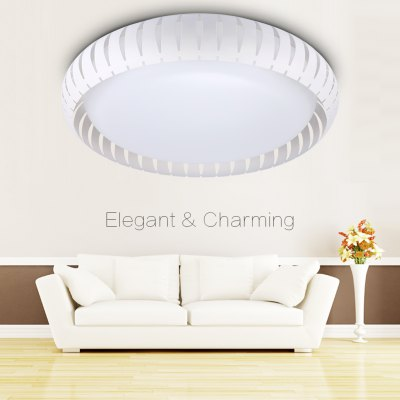 Floureon®18inch 30W Round LED Ceiling Light,Metal Frame,220V, 3000-6500k Bright Light, 3900Lumens, 18inch Round Flush Mount Fixture for Indoor Lighting, Energy Saving, Perfect for Bedroom, Living RoomFlush Ceiling Lights<br>Floureon®18inch 30W Round LED Ceiling Light,Metal Frame,220V, 3000-6500k Bright Light, 3900Lumens, 18inch Round Flush Mount Fixture for Indoor Lighting, Energy Saving, Perfect for Bedroom, Living Room<br>