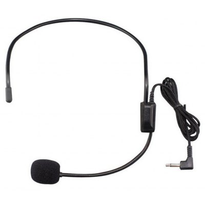 TDM - 100 3.5MM Wired Unidirectional Headset Studio Conference Condenser Microphone