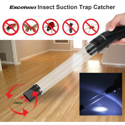 Excelvan Insect Suction Trap Catcher Fly Insects Bugs Spider GH-200C