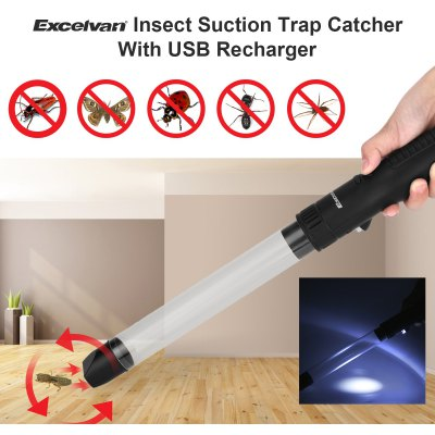 Excelvan GH - 200C+ Multi-functional Insect Suction Trap Catcher Fly Insects Bugs Spider