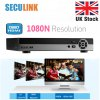 SECULINK 16 CH AHD 1080N HDMI CCTV Security Camera Video Recorder Cloud DVR UK