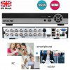 SECULINK 16 CH AHD 1080N HDMI CCTV Security Camera Video Recorder Cloud DVR UK deal