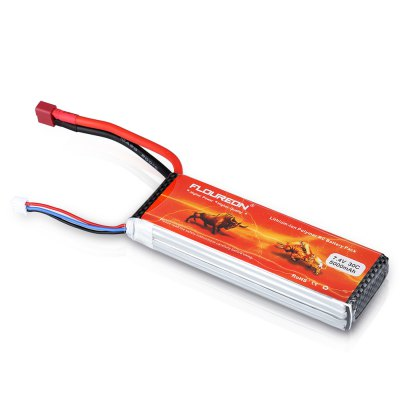 Floureon 2S 7.4V 5000mAh 30C with T Plug LiPo Battery Pack for RC Evader BX Car, RC Truck, RC Truggy RC Airplane UAV Drone FPVBattery<br>Floureon 2S 7.4V 5000mAh 30C with T Plug LiPo Battery Pack for RC Evader BX Car, RC Truck, RC Truggy RC Airplane UAV Drone FPV<br>