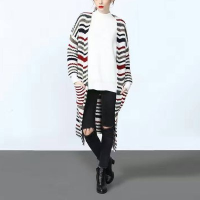 Autumn winter casual  style strap pocket front 2016 new long style long sleeve  woman sweater cardiganJackets &amp; Coats<br>Autumn winter casual  style strap pocket front 2016 new long style long sleeve  woman sweater cardigan<br>