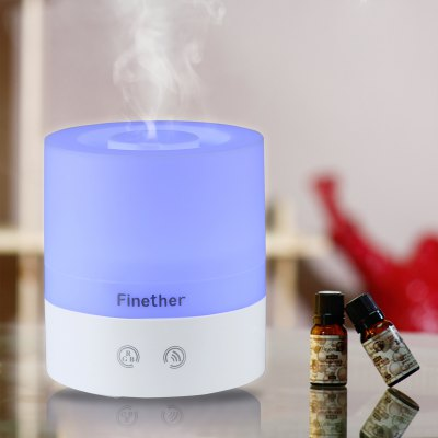 Finether 98 - 6A Touch Control USB Portable Aroma Diffuser Ultrasonic Humidifier Purifier LED Light