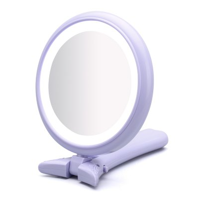 Ovonni HM002 - DL Hand Held LED Lighted Makeup Mirror