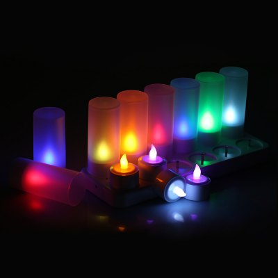 CL213812R7 Rechargeable candle lamp