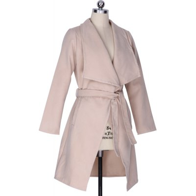 Fahionable Female Cardigan Korean Style Designers Casual Spring High Street Vogue New Arrivals Plain Long Sleeve Turn-Down Collar Snap Knitted Plus Size Loose Jacket Coat