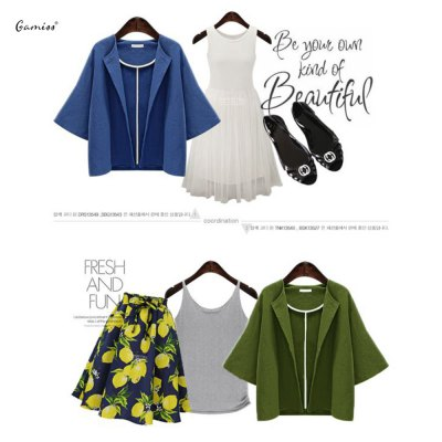 2016 Autumn spring new arrival button  casual woman short style cardiganSweaters &amp; Cardigans<br>2016 Autumn spring new arrival button  casual woman short style cardigan<br>