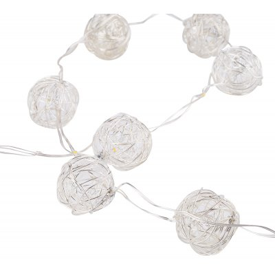 Excelvan 3M 30LEDs Copper Wire Globe Ball Fairy String Light
