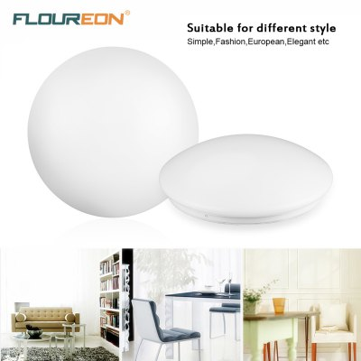 Floureon®24W Round LED Ceiling Light,85-260V,6000-6500k Bright Light,2880 Lumens,15.7inch Round Flush Mount Fixture for Indoor Lighting,Energy Saving, Suitable for Bedroom,Living Room,Kitchen,Balcony.Flush Ceiling Lights<br>Floureon®24W Round LED Ceiling Light,85-260V,6000-6500k Bright Light,2880 Lumens,15.7inch Round Flush Mount Fixture for Indoor Lighting,Energy Saving, Suitable for Bedroom,Living Room,Kitchen,Balcony.<br>