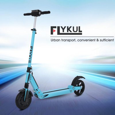 Flykul 8 Inches Foldable Lightweight Electric Kick Scooter