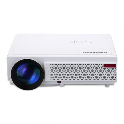 Excelvan LED 96+  Native 1280*800 support 1080p Led  Projector White