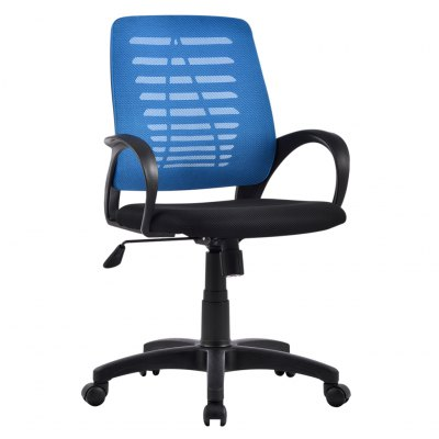 (US MCT053 BLUE) Ergonomic Mid-Back Mesh Swivel Computer Task Office Chair with Adjustable Height, Knee-Tilt with 1 Position Lock, BlueOffice Standing Desk<br>(US MCT053 BLUE) Ergonomic Mid-Back Mesh Swivel Computer Task Office Chair with Adjustable Height, Knee-Tilt with 1 Position Lock, Blue<br>