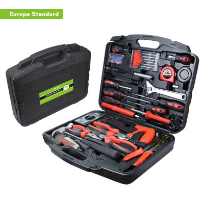 Finether 90PCS Hand Tool Set for Telecommunication Household