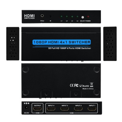 T-305 HDMI Switch EUCables &amp; Connectors<br>T-305 HDMI Switch EU<br>