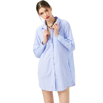 New Summer Women Shirts Three  Pockets Turn-down Collar Full Sleeves Casual Tops Women Boy Style Simple BlouseBlouses<br>New Summer Women Shirts Three  Pockets Turn-down Collar Full Sleeves Casual Tops Women Boy Style Simple Blouse<br>